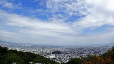 初めての徳島10月3連休2泊3日ノープラン旅!明日は台風が。。。