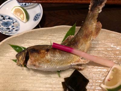 上山田温泉でサイクリング その5 鮎とお蕎麦の昼食。造り酒屋。そして温泉。