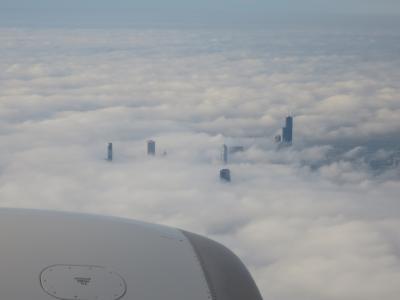 アムトラックEmpire Builderの旅2019(1:ANA特典ビジネスクラスでシカゴへ)