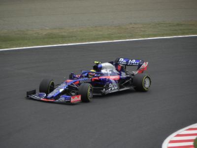 2019年10月 F1日本GP(鈴鹿) フリー走行