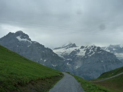 2019 スイス2人旅 4 Berner Oberland Regional-Pass を使って~ フィルスト グローセシャイデッグ