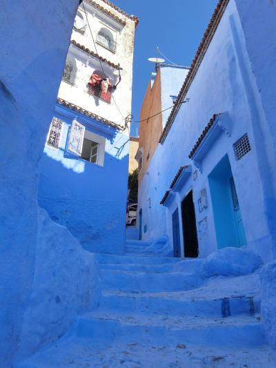 2019年10月 凱旋門賞とモロッコ・イギリス鉄道の旅 (6)  エキゾチック・モロッコ・青い街シャウエン後編