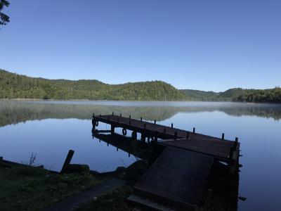 初秋の北海道(前編)オホーツクの秘湖・チミケップ湖、湖のオーベルジュ チミケップホテル宿泊