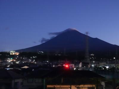 夜明けの散歩・富士山見ながら… 2019.10.13