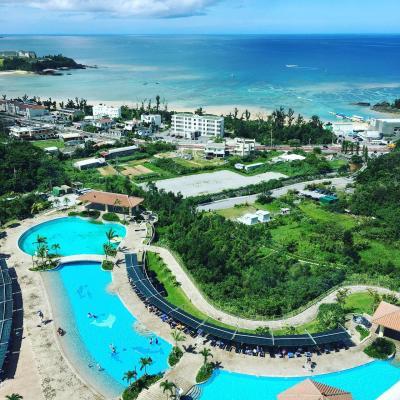 アップグレードなしで沖縄マリオットのパノラマオーシャンスイートプレミアムに泊まってみた