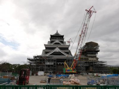 熊本城大天守閣外観復旧記念週間の熊本城へ 2019.10.12