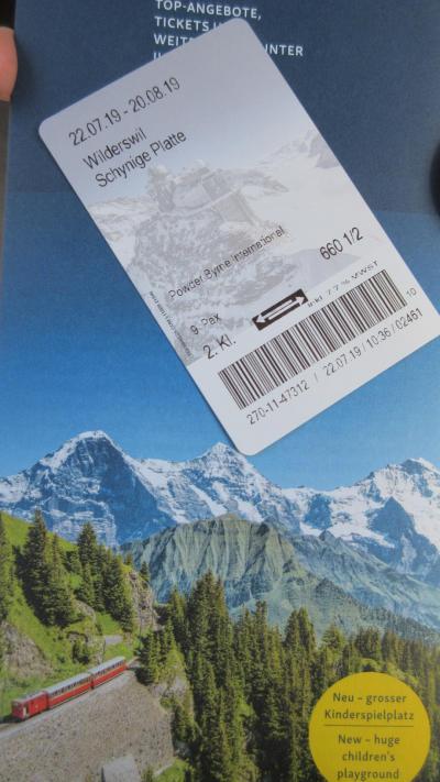 スイス再訪 ホテルステイで美食とハイキング三昧(5) 登山鉄道を乗り継いでシーニゲプラッテの絶景を愉しむ