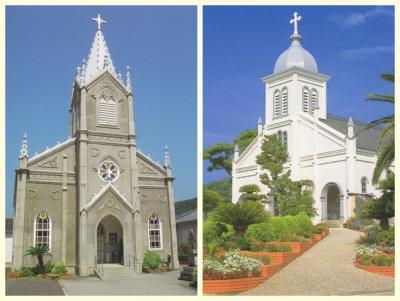 天草島へ津崎天主堂と大江天主堂を訪ねて
