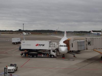 JL805便で、成田空港から台湾桃園國際機場へ。今年4回目で139回目の訪台。