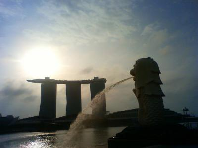 2011年2月 母娘シンガポール2泊4日 幼馴染みを訪ねてラッフルズハイティーで介護疲れの母を癒す旅