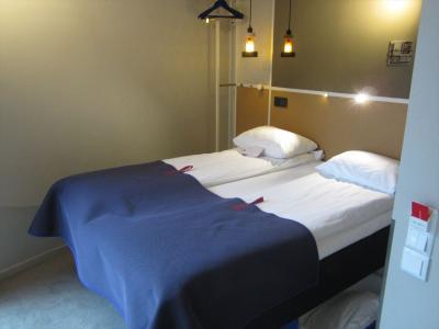 オスロの中心地にあるホテルに滞在。Scandic Grensenホテルの口コミ