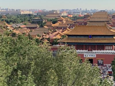 初北京 ④ 国立美術と景山公園