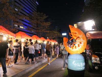 韓国64回目 ~ 清渓川 ナイトマーケット ~