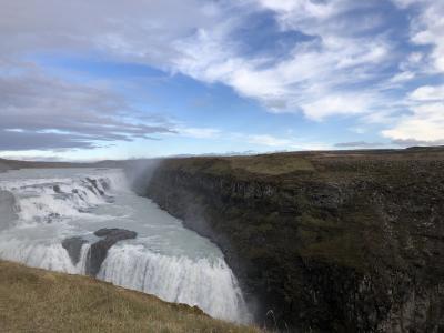 アイスランドの滝