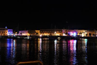 魅惑のシチリア×プーリア♪ Vol.768 ☆夜景の美しいトラーニ漁港♪