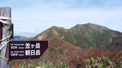 谷川連峰 白毛門~笠ヶ岳