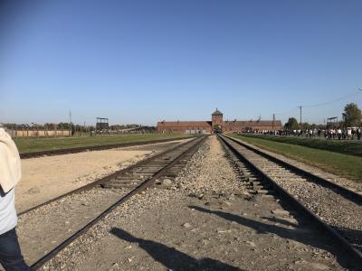 ♪day3♪ クラクフ から行く世界遺産アウシュビッツとビシュケナウ収容所