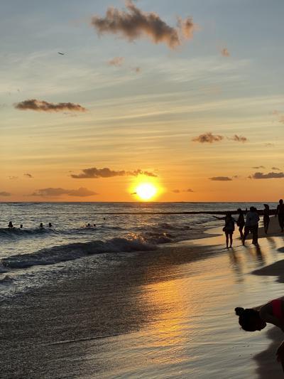 サンセットが美しいハワイを一人旅(1日目)