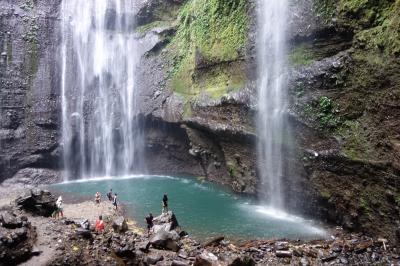 インドネシア旅行4日目:ジョグジャカルタからスラバヤへ移動・マダカリプラの滝~チョモロラワン