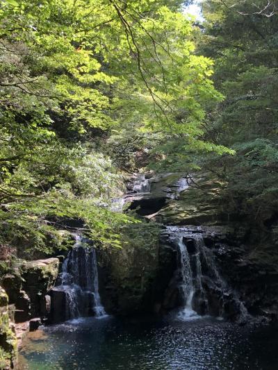 9月の3連休は、赤目四十八滝から室生寺へ(2019.9)
