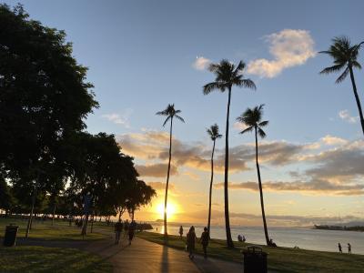 1ヶ月ぶりのハワイ