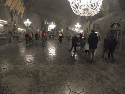 ♪day4♪ クラクフ から行く世界遺産ヴェリエチカ岩塩坑とヴァベル城