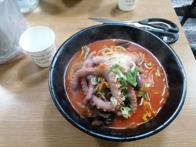 釜山で食べたもの