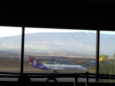 2019年サマーバケーションは9度目のハワイ島+初のマウイ島10日間(*^-^*)9日目Part1~マウイ島・カフルイ空港~コナ空港へ~!!