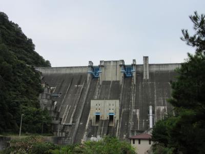 2019年9月16日:ダムカード収集-42 長野県コンプリートに向けて高瀬川水系へ(前編) 大町ダム・七倉ダム