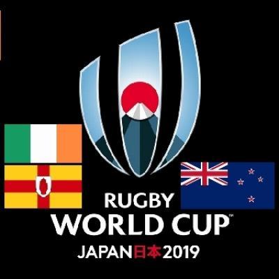 ラグビーワールドカップ日本のニュージーランド対アイルランドを観戦~準々決勝もビールぐびぐびぐびぐび!