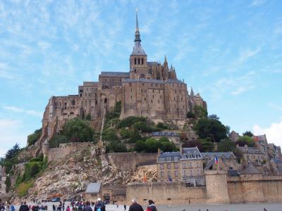 フランス・パリと、モン・サン・ミシェル ⑥哀愁の修道院