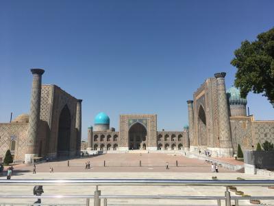 女一人旅inウズベキスタン2019 サマルカンド観光編①