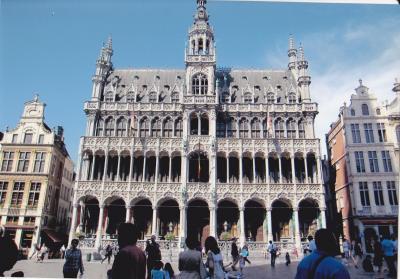 レンタカーで巡るオランダ・ベルギーと現地旅行のモンサンミッシェル(その2 ブルージュ)