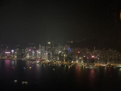 1歳、5歳児連れの母子旅バリ~出発、香港泊~