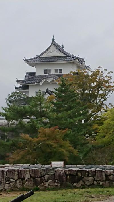 【日本名城100選】伊賀上野城へ(SAを楽しみつつ)
