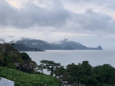 自衛隊基地で入場拒否され、ガッカリしながら、温泉を満喫した堂ヶ島温泉、下田への旅