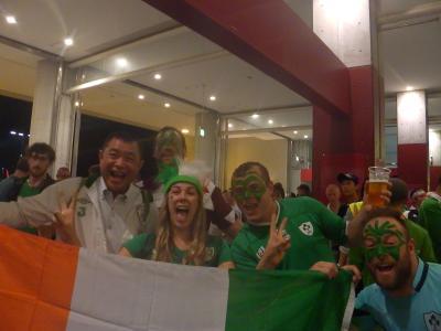 狂騒 ワールドカップ 「アイルランド対ロシア」