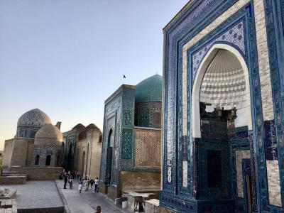 初めてのウズベキスタン3日目(サマルカンド)
