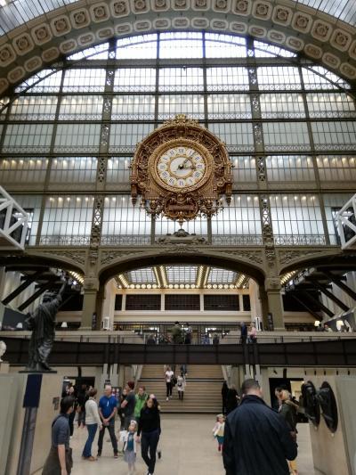 なぜかハノイ経由で、リスボン・パリの旅 (6)パリの初めの3日間