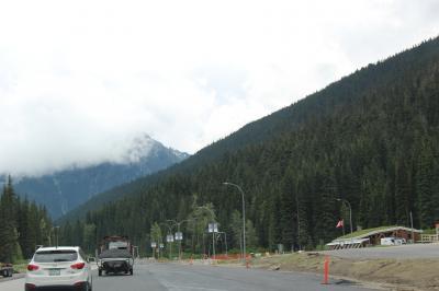 初夏のカナディアン・ロッキー2019 Day7-4(Glacier NP of CanadaからSicamousへ)