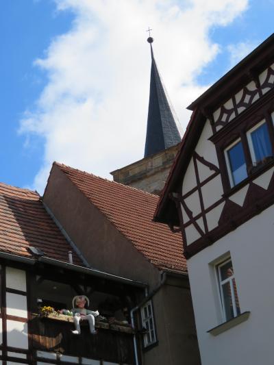 心の安らぎ旅行(2019年 5月 Erfurt エアフルト Part20 Rathausbrucke 市庁舎橋♪)