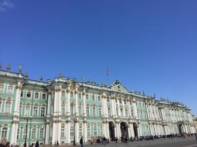 海外一人旅!第2弾~ロイヤルな街、サンクトペテルブルクvol.2 エルミタージュ美術館で1日を過ごす~