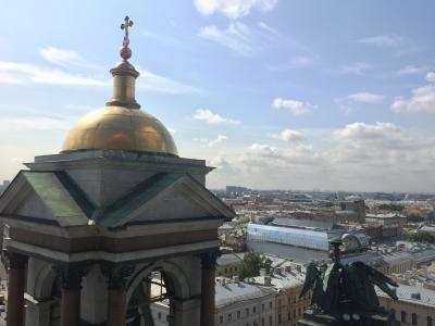 海外一人旅!第2弾~ロイヤルな街、サンクトペテルブルクvol.3  観光三昧の一日~