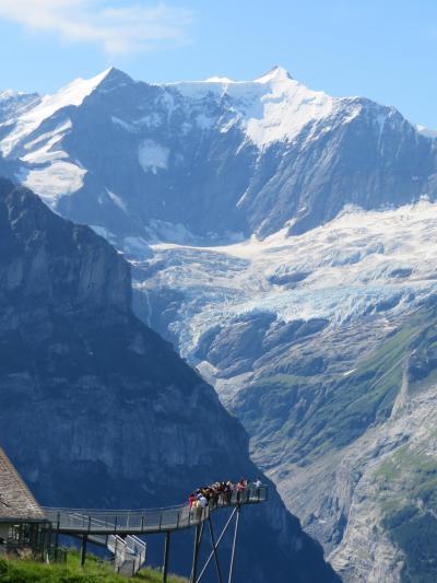 既訪、未訪の 町・山・川・峠の旅(イタリア・シャモニー・スイス)  10/25  スイス   グリンデルワルト ⇒ ヴィルダースヴィル