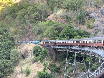 オーストラリアで夏休み vol.3 キュランダ鉄道で世界の車窓から@シャングリラ ザ マリーナ ケアンズ Sep. 2019