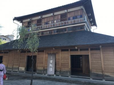 日本の夏を求めて山代温泉弾丸ツアー