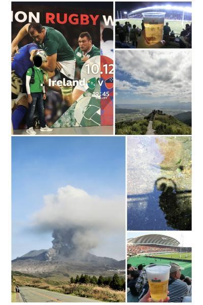 RUGBY WORLD CUP2019 『九州遠征③3日目は観光編(菊池渓谷&阿蘇)』