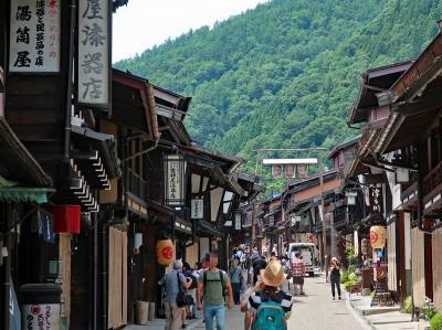 夏の信州で避暑(1)★奈良井宿、松本城、野辺山高原