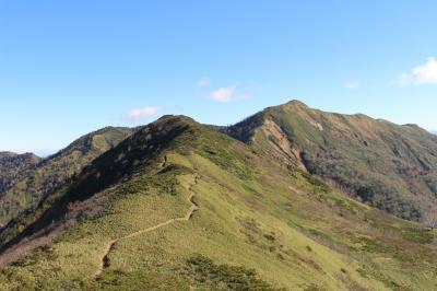 ほとんどが見通しのよい稜線歩き、白砂山へ行ってみました