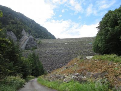2019年9月16日:ダムカード収集-42 長野県コンプリートに向けて高瀬川水系へ(中編) 堤高日本第二位の「高瀬ダム」訪問